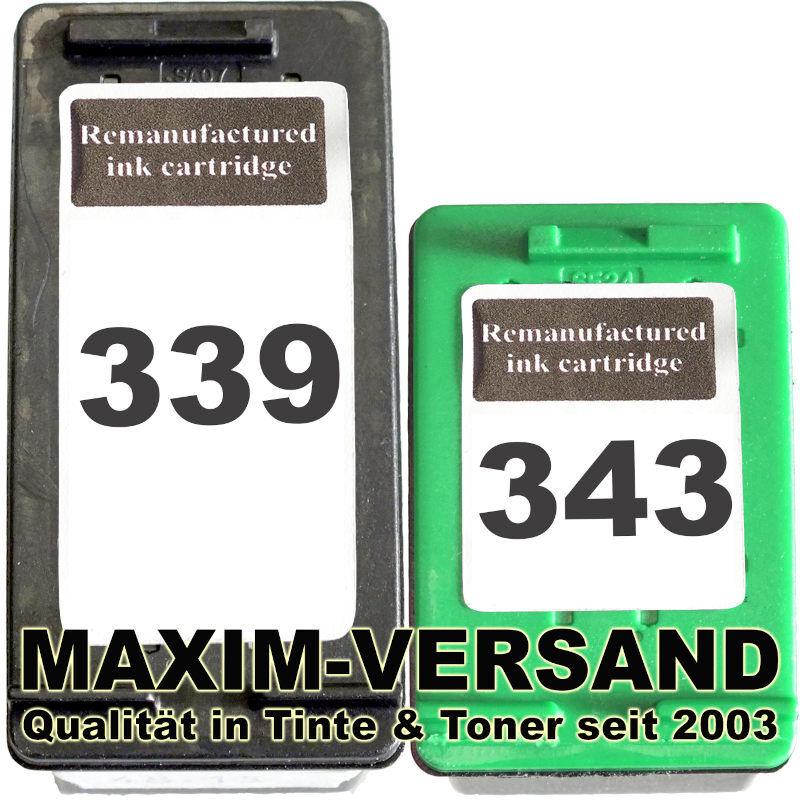 HP 339 + HP 343 kompatibel