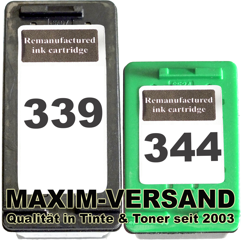 HP 339 + HP 344 kompatibel