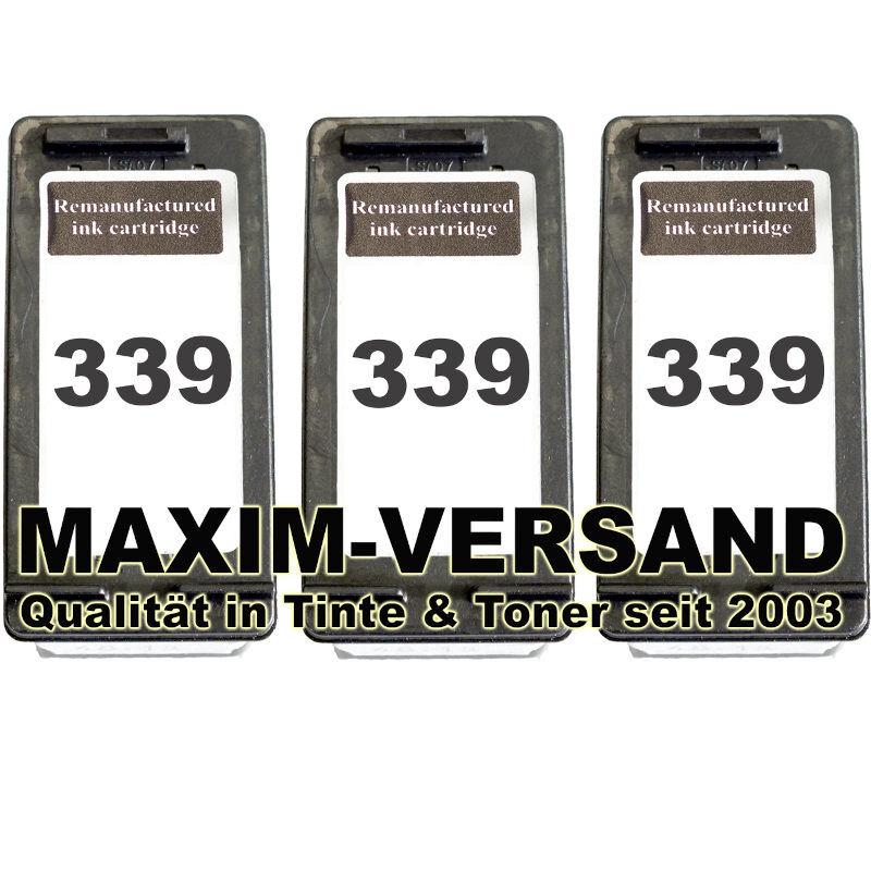 HP 339 x 3 kompatibel