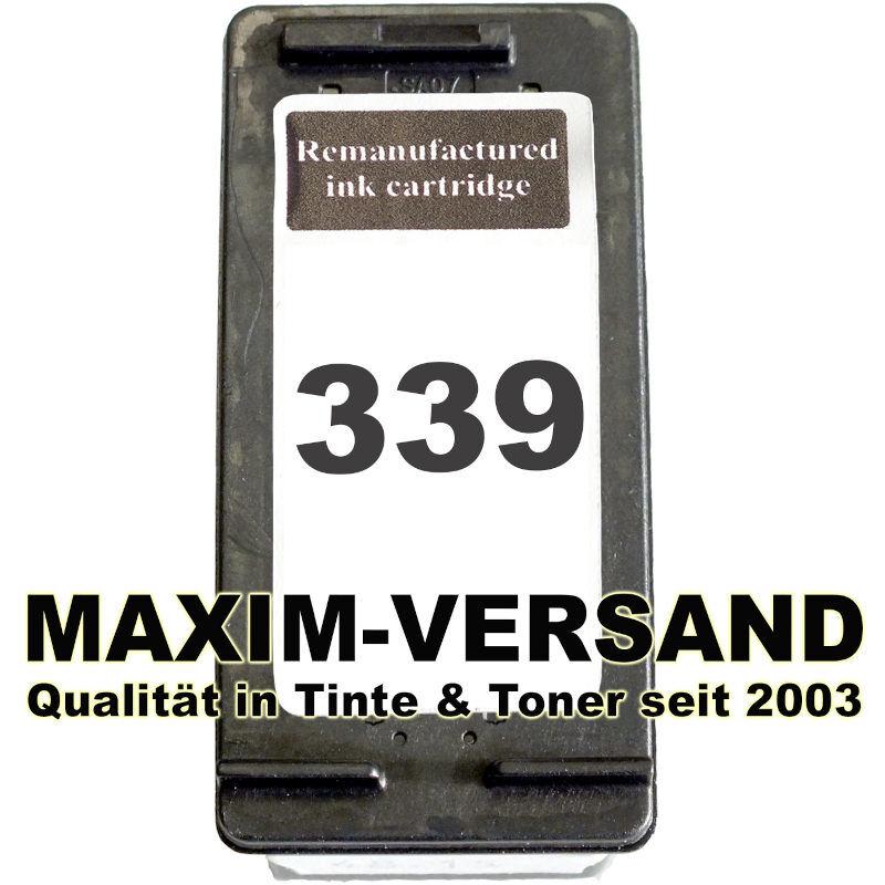 HP 339 - recycelt - C8767EE - 30 ml - schwarz / black