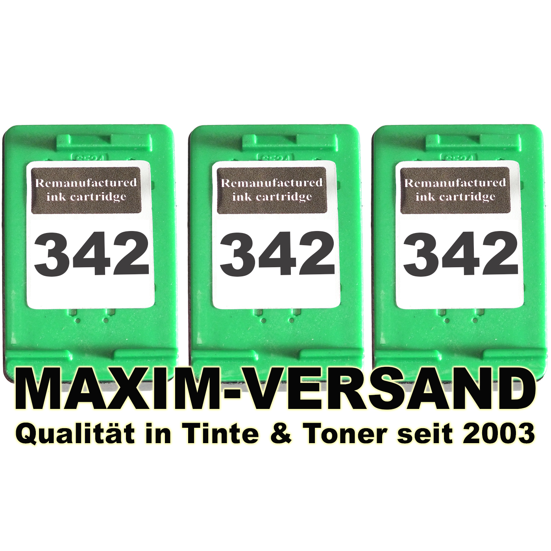 HP 342 x 3 - kompatibel