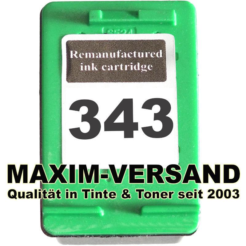 HP 343 - recycelt - C8766EE - 21 ml - 3-farbig /color