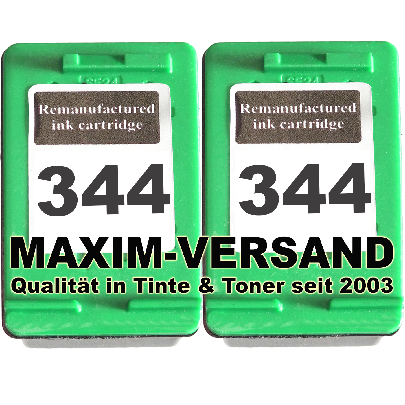 HP 344 x 2 -kompatibel
