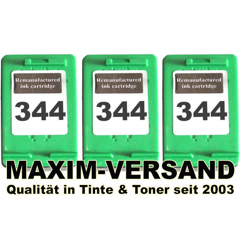 HP 344 x 3 - kompatibel