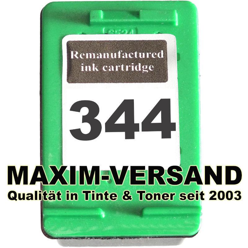 HP 344 - recycelt - C9363EE - 21 ml - 3-farbig / tri-color