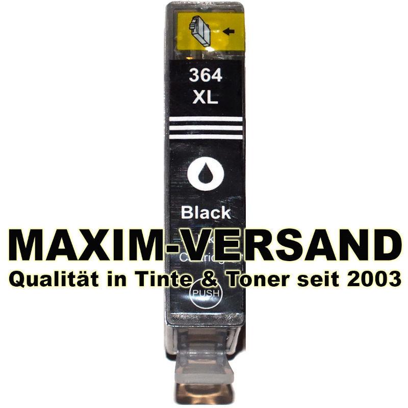 HP 364 XL schwarz / black - kompatibel - mit Chip