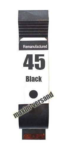 HP 45 - recycelt - 51645AE - 42 ml - schwarz / black