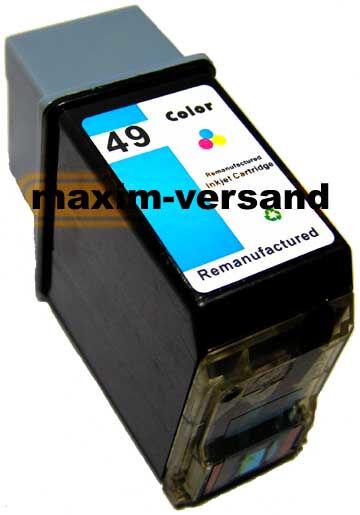 HP 49 - recycelt - 51649AE - 30 ml - 3-farbig / color