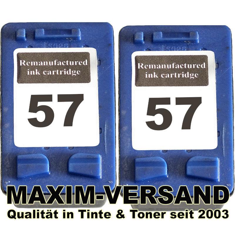 HP 57 x 2 - kompatibel