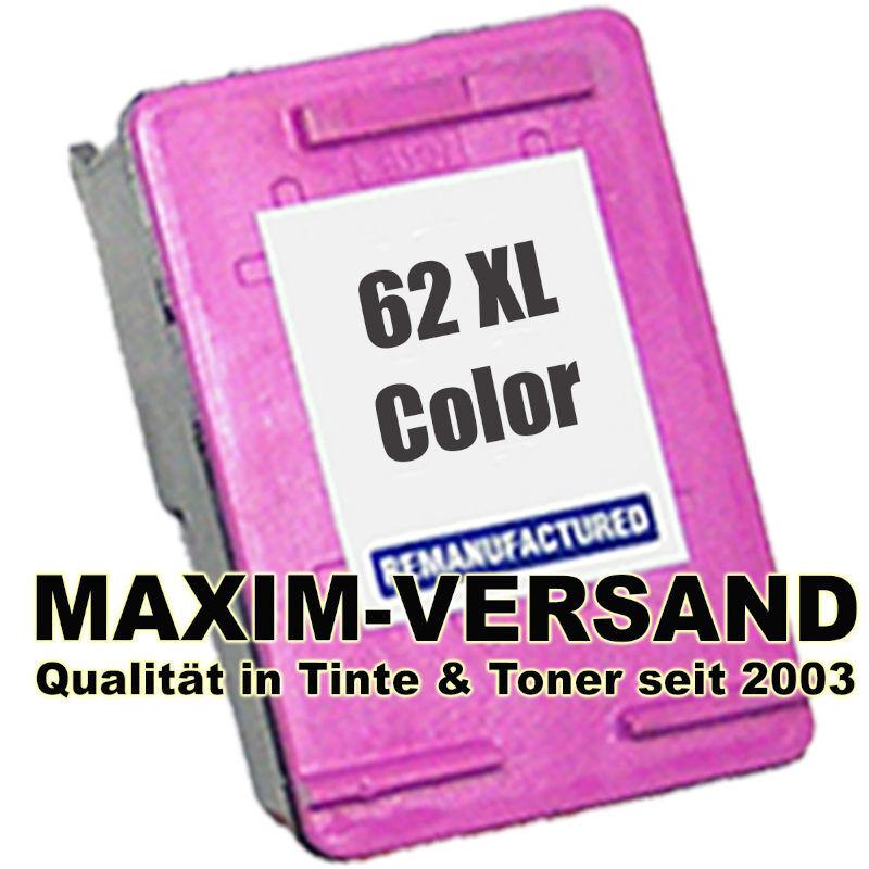 HP 62 XL - recycelt - C2P07AE - 3-farbig / tri-color
