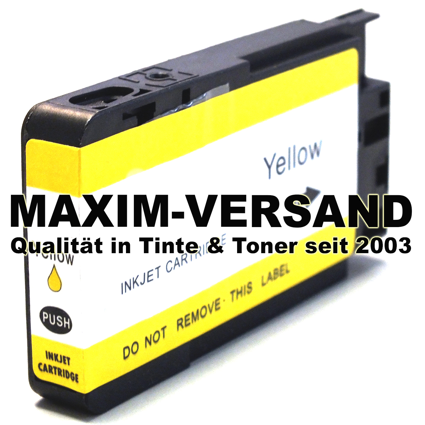 HP 711 XL - kompatibel - CZ132A - gelb / yellow - mit Chip