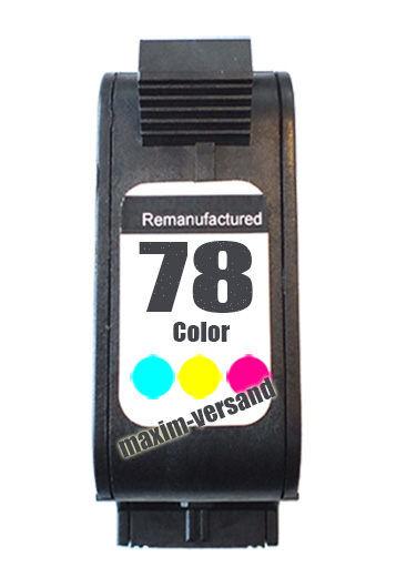 HP 78 - recycelt - C6578AE - 39 ml - 3-farbig / color