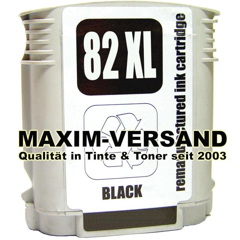 HP 82 XL - kompatibel - schwarz / black
