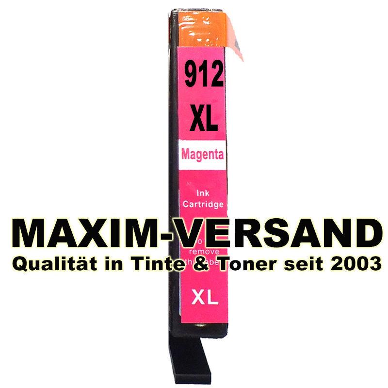 HP 912 XL - magenta / rot - kompatibel - Druckerpatrone mit Chip