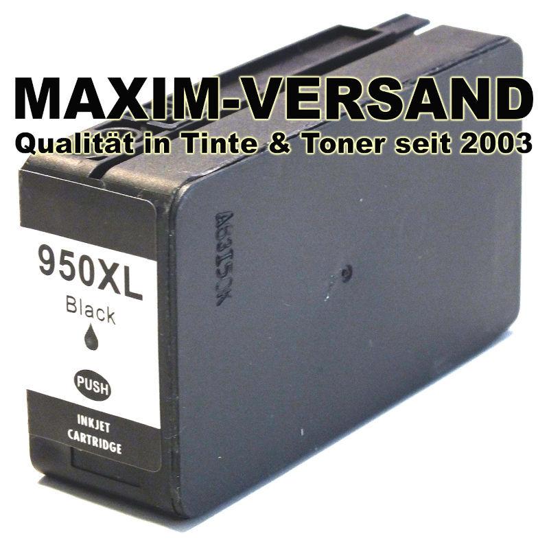 HP 950XL - kompatibel - schwarz / black