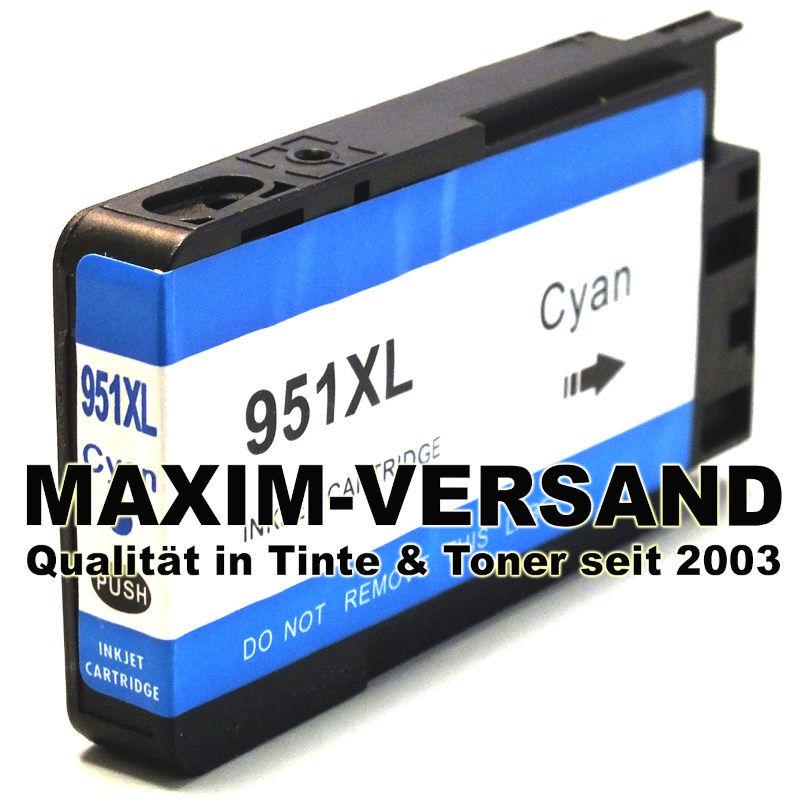 HP 951XL - kompatibel - blau / cyan - mit Chip