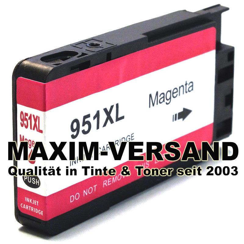 HP 951XL - kompatibel - rot / magenta - mit Chip