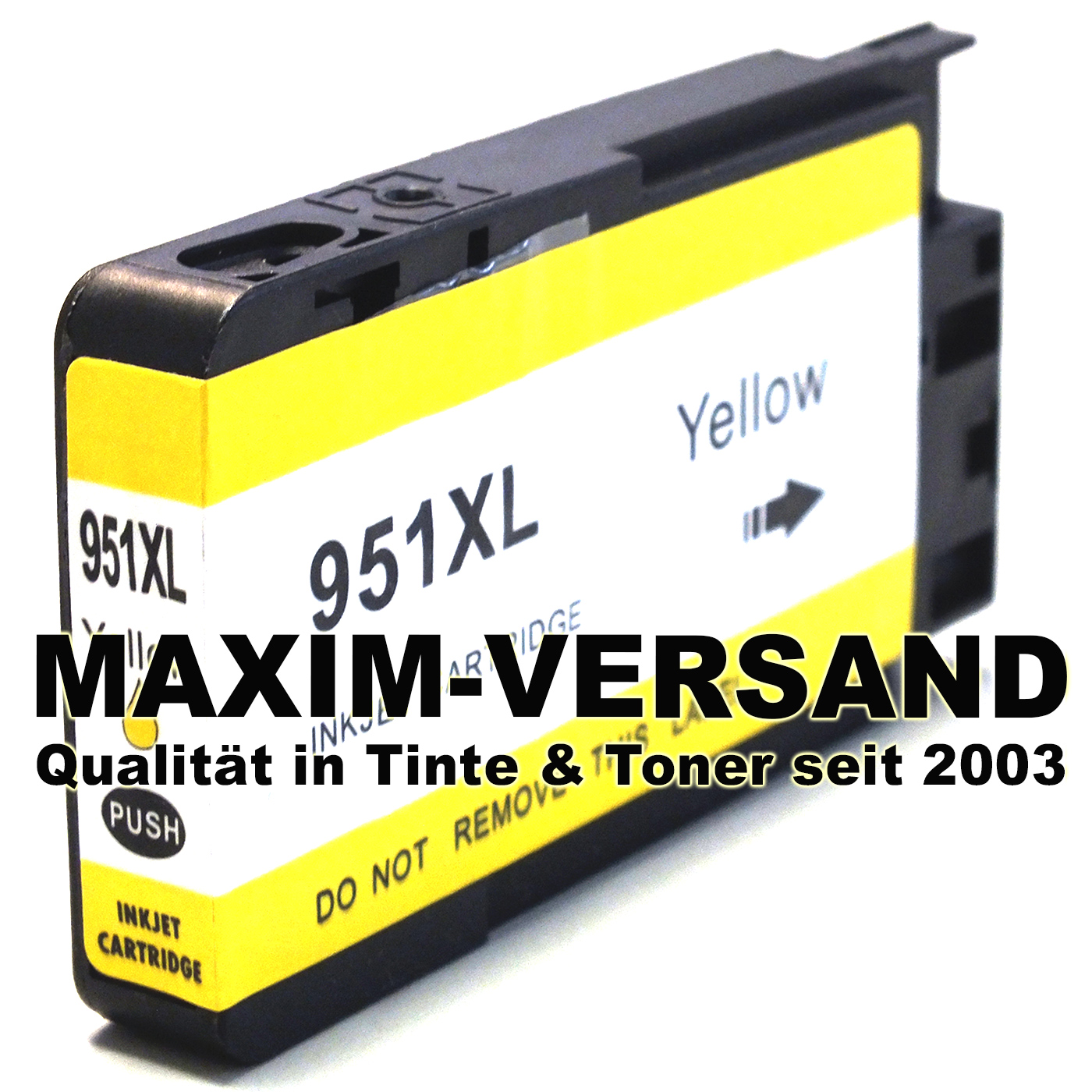 HP 951XL - kompatibel - gelb / yellow - mit Chip