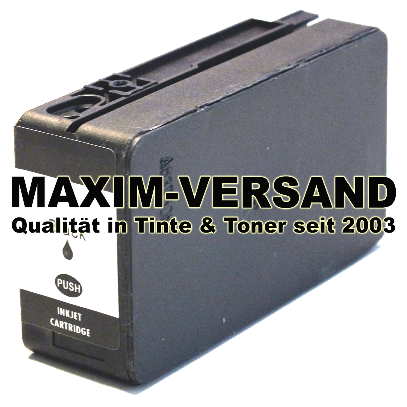 HP 953 XL - L0S70AE - kompatibel - schwarz / black - mit Chip min. V5