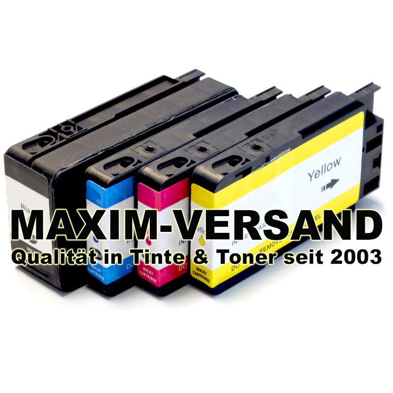 HP 953 XL Black, Cyan, Yellow, Magenta - kompatibel - alle Farben (4er Set)