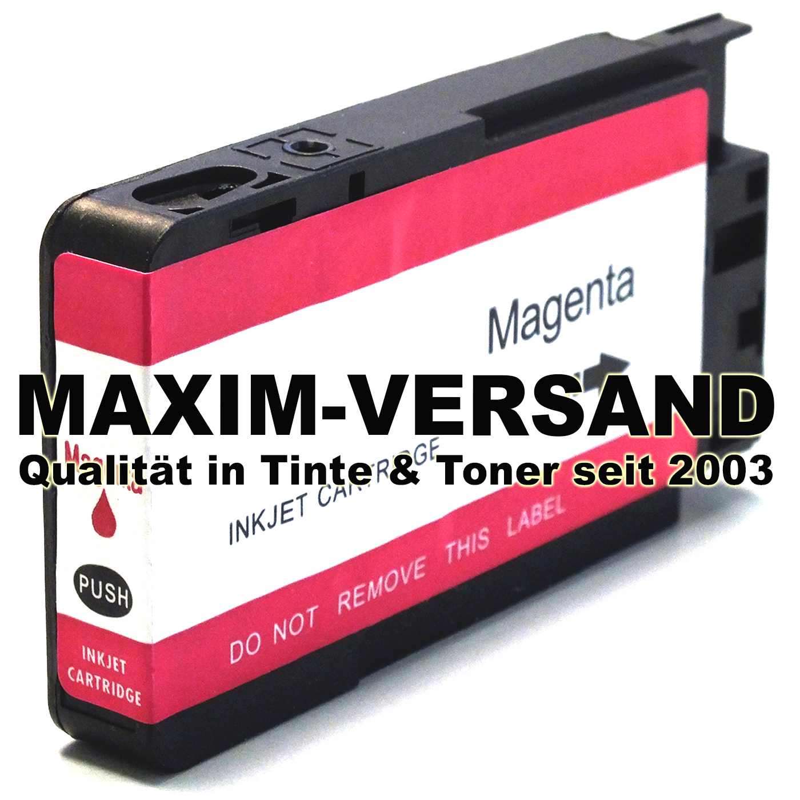 HP 953 XL - F6U17AE - recyelt - rot / magenta - mit Chip min. V5