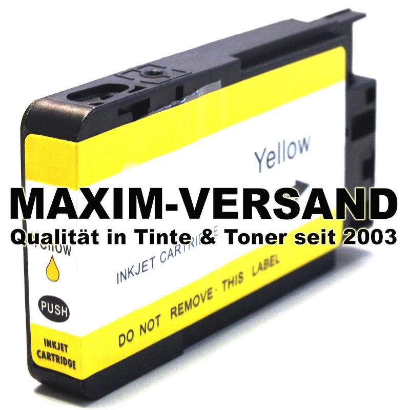 HP 963 XL - yellow / gelb - kompatibel - Druckerpatrone mit Chip