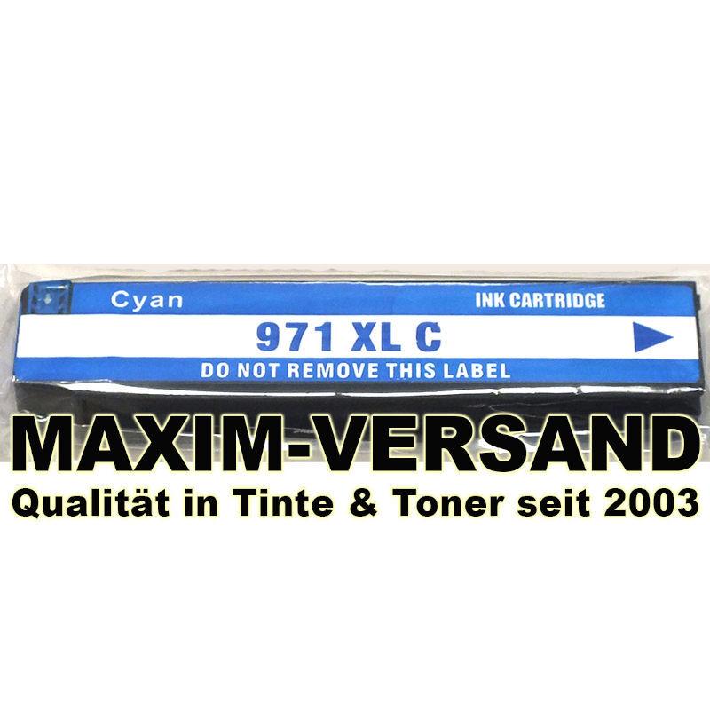 HP 971XL - kompatibel - pigmentierte Tinte - blau / cyan