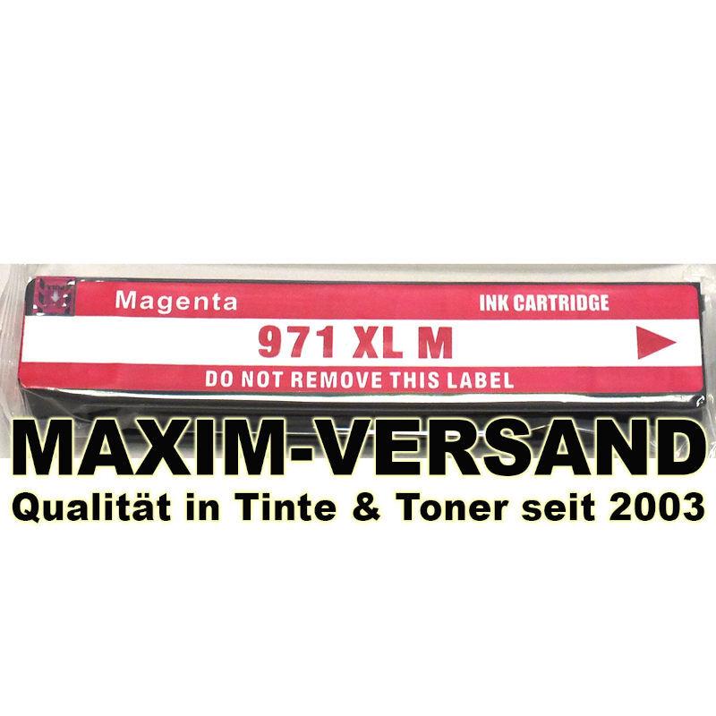 HP 971XL - kompatibel -  pigmentierte Tinte - rot / magenta