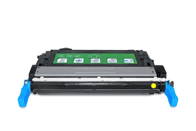 HP CB402A Toner / Toner-Patrone - kompatibel - gelb / yellow