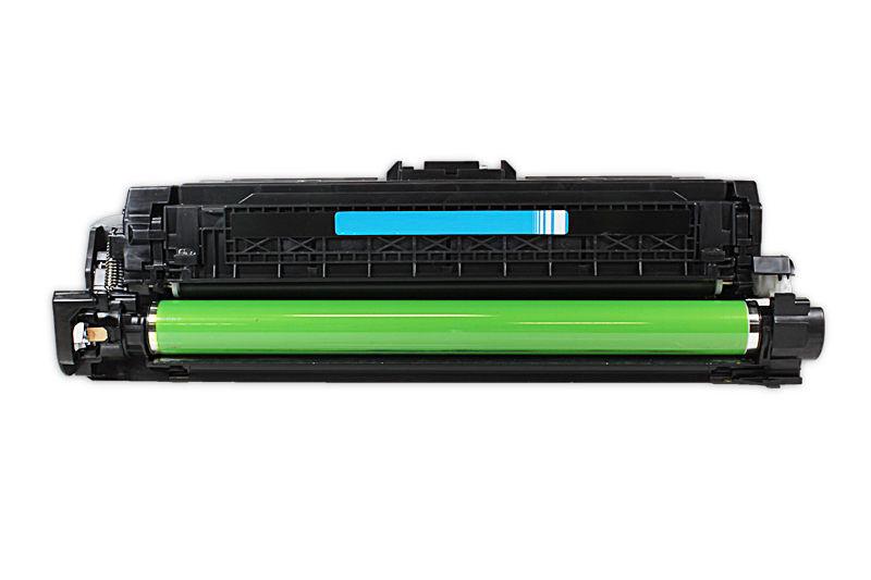 HP CE741A  Toner / Toner-Patrone - kompatibel - blau / cyan