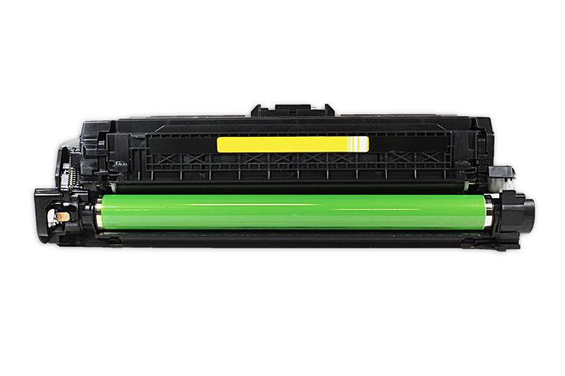 HP CE742A  Toner / Toner-Patrone - kompatibel - gelb / yellow