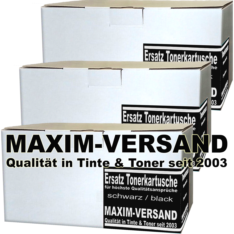 HP CF400X / 201X Toner kompatibel - Schwarz / Black (3er Pack)