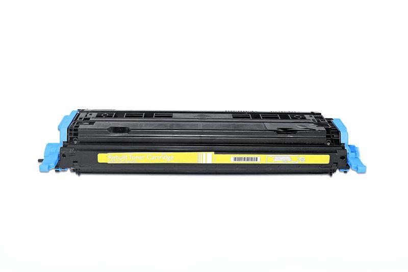 HP Q6002A Toner / Toner-Patrone - kompatibel - gelb / yellow