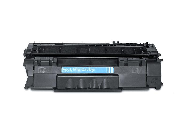 HP Q7553X Toner / Toner-Patrone - kompatibel - schwarz / black