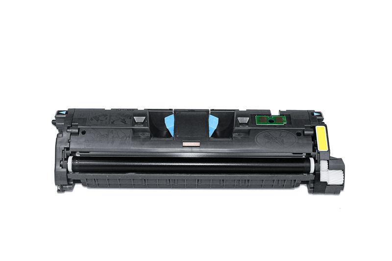HP C9702A Toner / Toner-Patrone - kompatibel - gelb / yellow