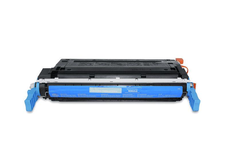HP C9721A Toner / Toner-Patrone - kompatibel - blau / cyan