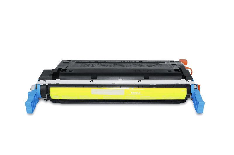 HP C9722A Toner / Toner-Patrone - kompatibel - gelb / yellow