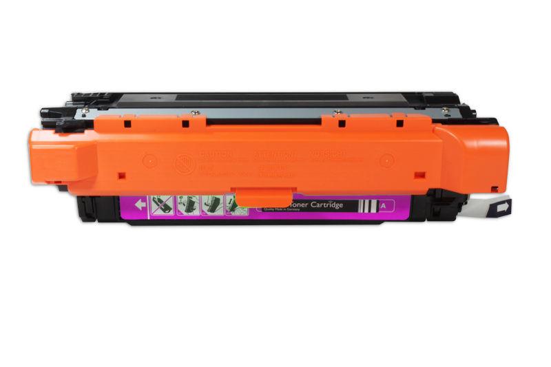 HP CE253A Toner / Toner-Patrone - kompatibel - rot / magenta