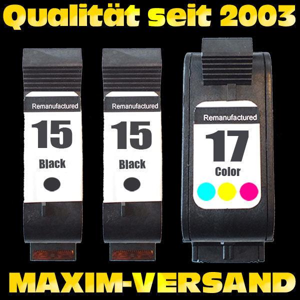 HP 15 x 2 + HP 17 kompatibel - (3er Set)