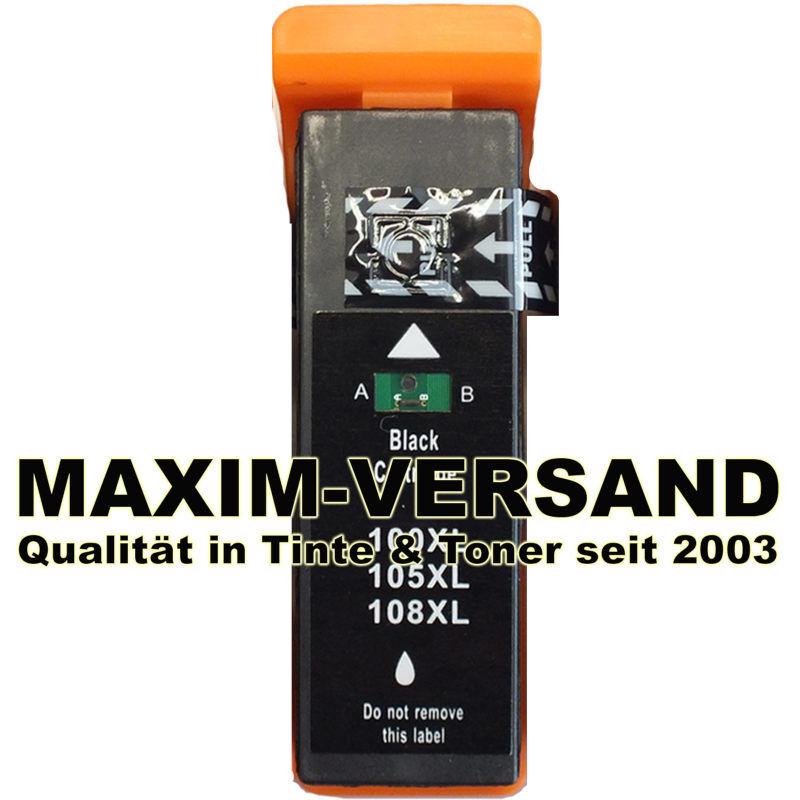 Lexmark 100 XL kompatibel (14N1068E) - schwarz / black
