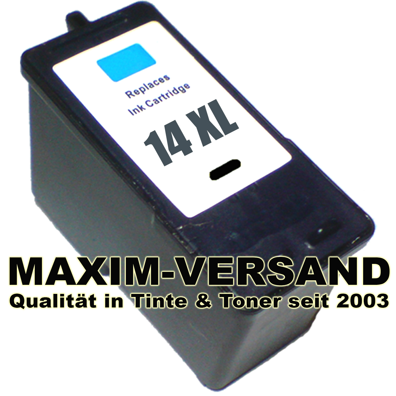 Lexmark 14A - schwarz - black - recycelt - 18C2080E
