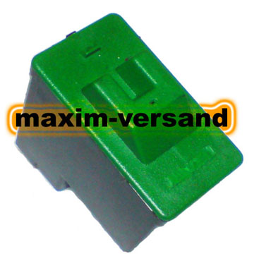 Lexmark 16/17 - recycelt - schwarz / black
