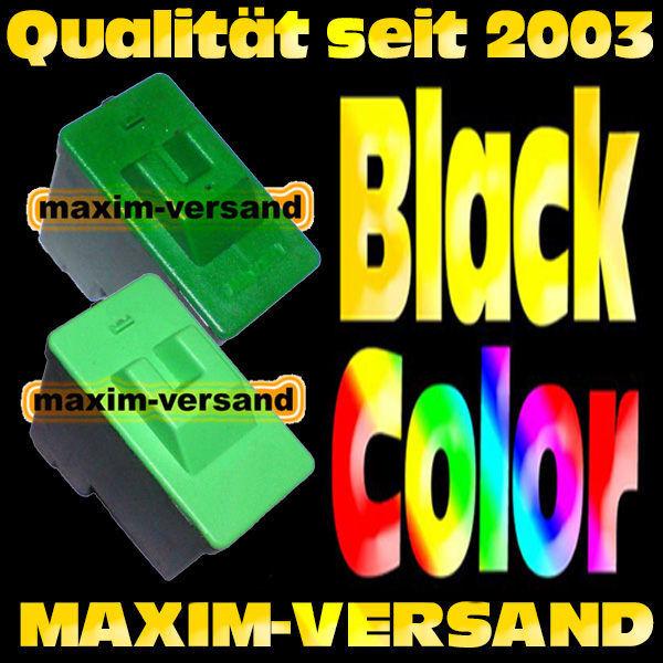 Lexmark 16 Schwarz +  Lexmark 26 Color -  kompatibel - (2er Set)