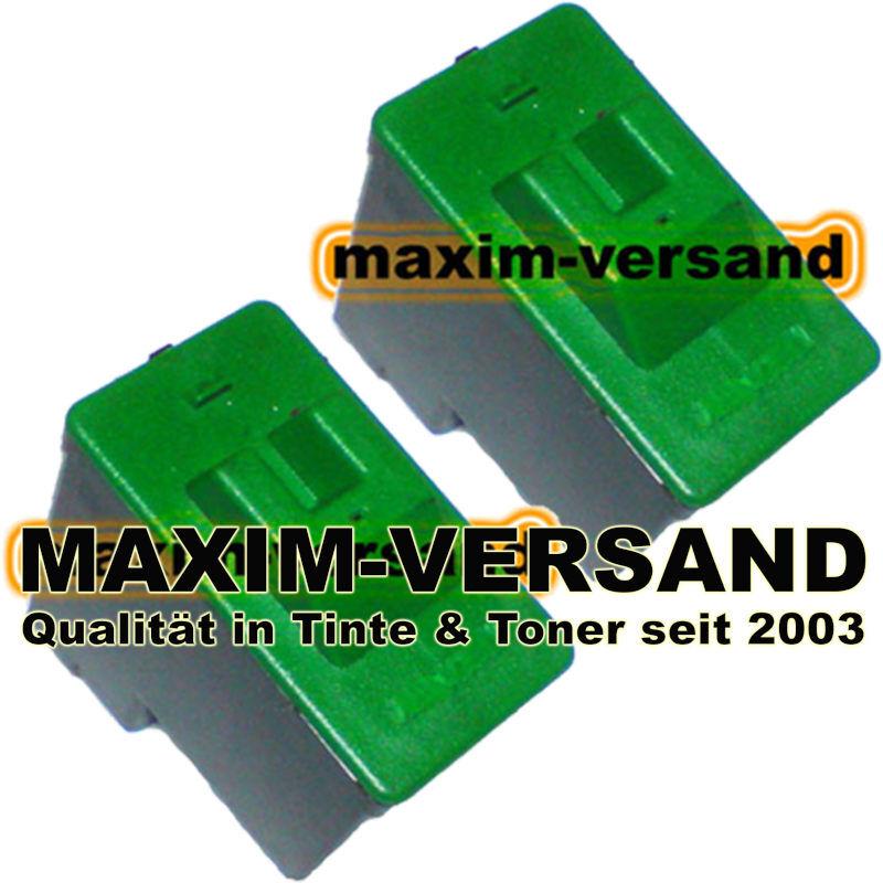 Druckerpatronen Set ersetzt Multipack Lexmark 16/17 kompatibel x 2