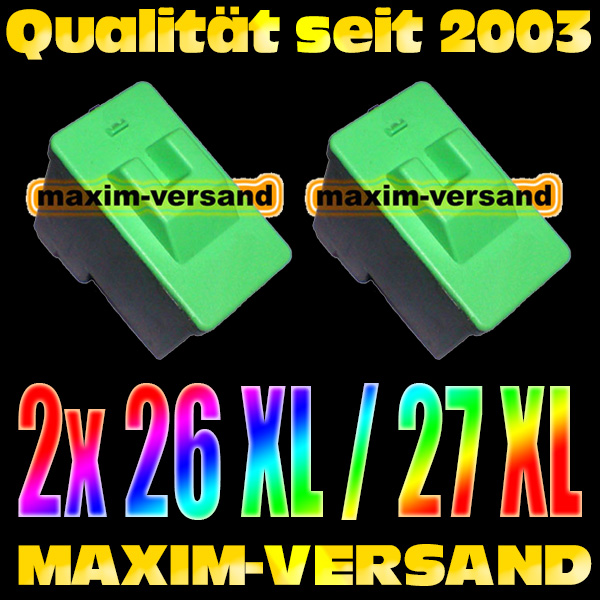 Lexmark 26/27 kompatibel x 2