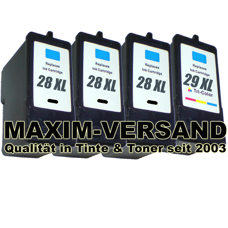 Lexmark 28 x 3 +  Lexmark 29 kompatibel