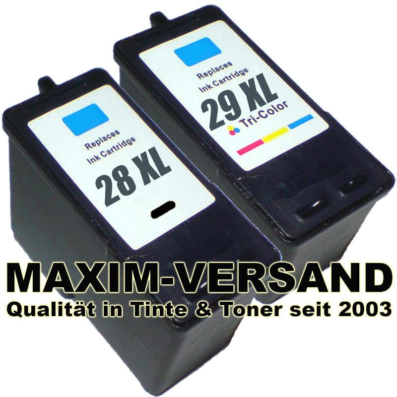 Lexmark 28 +  Lexmark 29 kompatibel