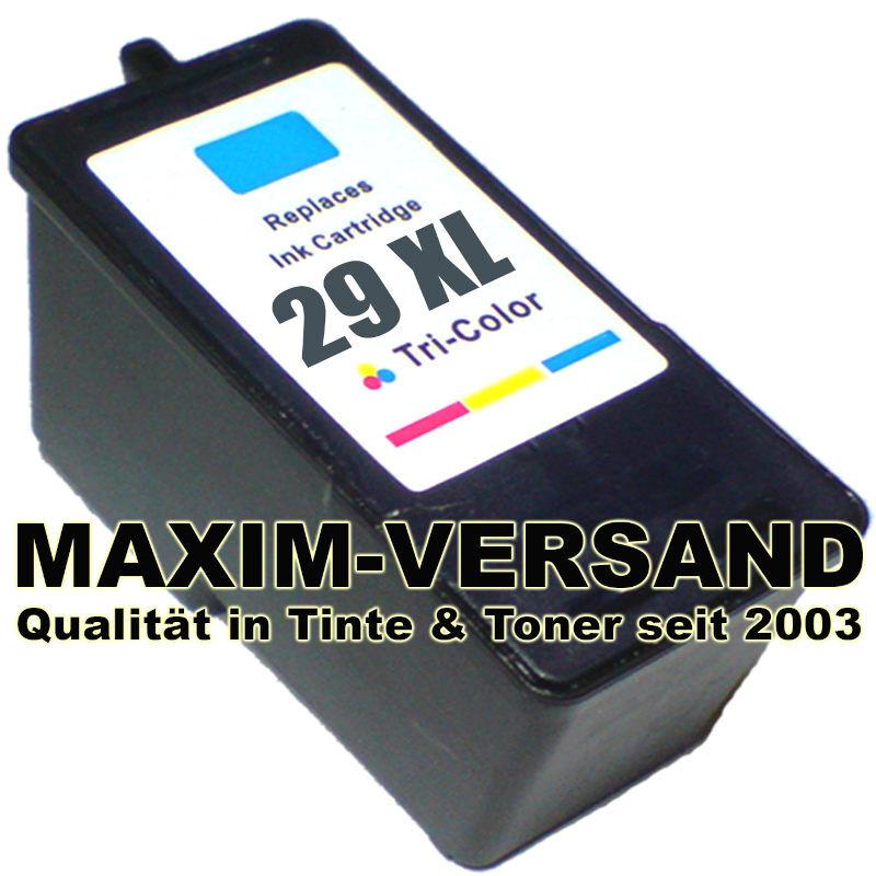 Lexmark 29A - recycelt - 3-farbig / tri-color