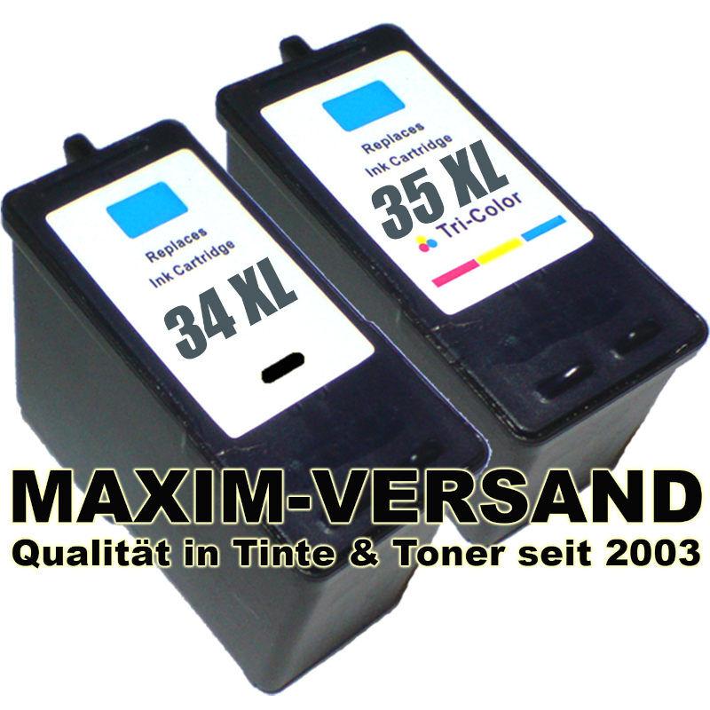 Lexmark 34 +  Lexmark 35 kompatibel
