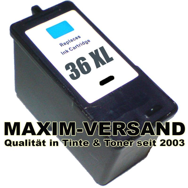 Lexmark 36 XLA - schwarz - black - recycelt - 18C2170E